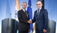 Jaishankar holds 'very good meeting' with Heiko Maas