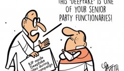 Cartoon: Deepfakes make an entry into Indian politics