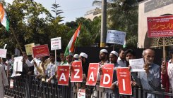 Anti-CAA protest at Bannerghatta Road draws hundreds