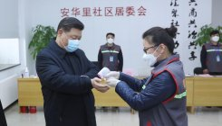 Xi warns virus yet to peak amidst its spread to prisons