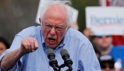 Sanders blasts Russia for trying to 'boost campaign'