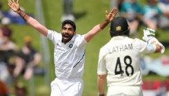 India bundled out for 165, NZ 17/0 at lunch on day 2