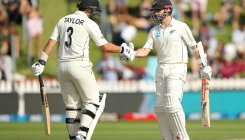 New Zealand 216-5 at stumps on day 2 of first Test