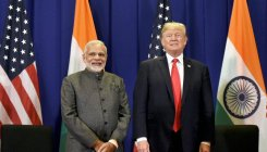 Activists protest Modi-Trump 'fascist alliance'