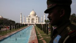 Ticket counters at Taj to close at 11:30 am on Monday