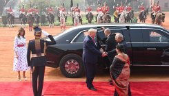 Trump's security measures to affect traffic in Delhi