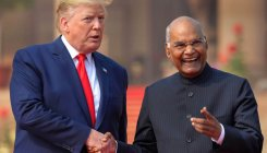 Ram Nath Kovind hosts banquet for US President Trump