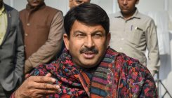 Delhi BJP head Tiwari asks partymen to work for peace