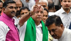 K'taka CM Yediyurappa's birthday bash at Palace Grounds