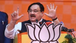 Nadda keeps mum about Delhi violence in Virbhadra