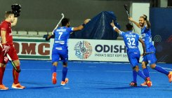 Indian men's hockey team jumps to 4th spot