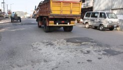 Damaged roads irk motorists, pedestrians