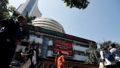 Sensex rebounds over 300 points; RIL rallies 5%
