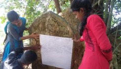 Vijayanagara era stone inscription found in Kundapur