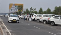 Cab, taxi service operators witness dip in business