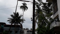 Labourer electrocuted while erecting pandal