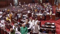 RS adjourned amid uproar over BJP MP's comment