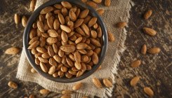 Eating almonds may help suppress between-meal hunger