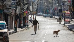 Lockdown continues in Kashmir as police books violators