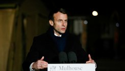 Macron pledges massive investment in health system