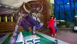 RBI presser takes steam off rally; Sensex closes in red