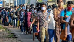 Sri Lanka arrests thousands for violating curfew