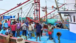 Labourers stranded in anchored boats due to lockdown