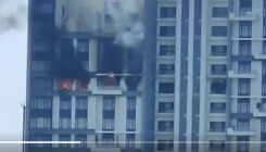 Fire breaks out at high-rise in Kolkata's Bhawanipore