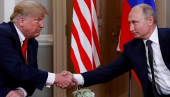 Trump says Putin to 'probably ask' to lift sanctions