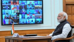 PM holds video-conference with Indian missions abraod