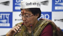 Atishi seeks strong action against Markaz for gathering