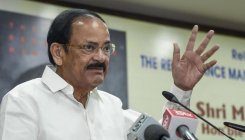 Hold back issues, no time for quibbling: VP Naidu