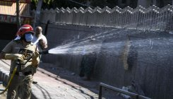 20k litres disinfectant sprayed in Delhi's Nizamuddin