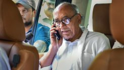 Digvijaya switches off phone due to unknown calls