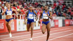 Asher-Smith posts year's best 200m time