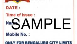 Bengaluru cops issue 12-hour passes for emergencies
