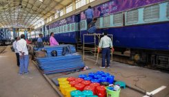 Railways to the rescue while country reels with virus