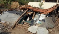 House collapses in Halebid