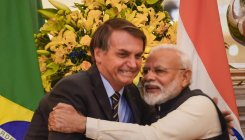 Brazil prez thanks PM Modi for allowing export of HCQ