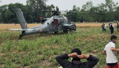 IAF chopper makes emergency landing in Hoshiarpur