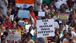 Govt school students take part in pro-CAA rally