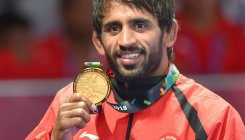 Bajrang reclaims gold at Asian Wrestling Championship