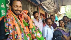 K Surendran takes over as Kerala BJP chief