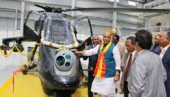 Rajnath Singh inaugurates LCH assembly line, lauds HAL