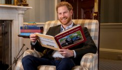 Prince Harry marks Thomas the Engine's 75th anniversary