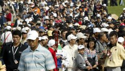 Pro golf in China marks 25 years