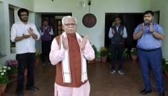 Khattar chairs all-party meet on COVID-19 situation
