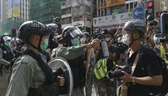 Police fan out but Hong Kongers eschew May Day rallies