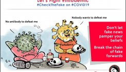 COVID-19: Cartoon characters bust fake news in Assam
