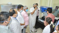 Minister inaugurates Covid lab in Ch'nagar